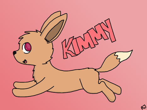 Kimmy Running by RJFaks