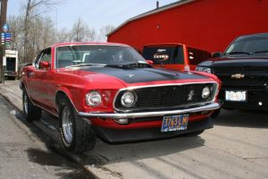 1969 mustang mach 1 by hyperactive122986