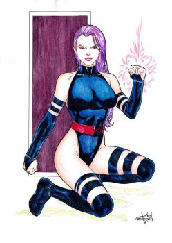 Psylocke Commission by wardogs101