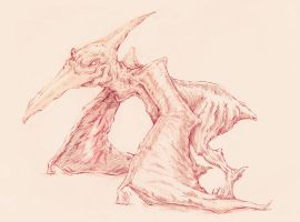 ZOMBIE PTERODACTYL by TIMFUDY