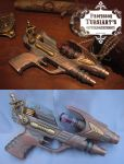 The Ruby Flintlock Filibuster by tursiart