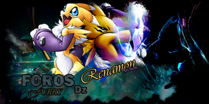 Renamon Sig Dz - Calidad Normal. by Prototype-DA