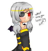 Gijinka Dusknoir - Female by Dragoncookie