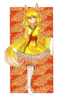 Oriental Yellow by beartachi
