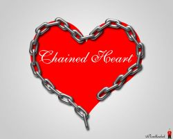 Chained Heart by pixelbudah