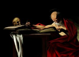Saint Jerome Writing by thebedtimestory