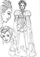The High Queen - Character Sheet by amberchrome