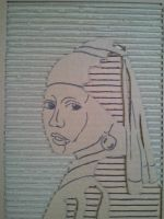 Girl With a Pearl Earring 4 by MaryCloe