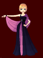 A Gala Gown by MobMotherScitah