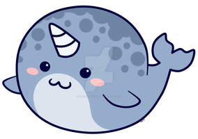 Narwhal_ Design by pinkplaidrobot