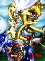 Sonic- Mecha Battle by Adir