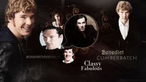 Benedict Cumberbatch Wallpaper 4 by HappinessIsMusic