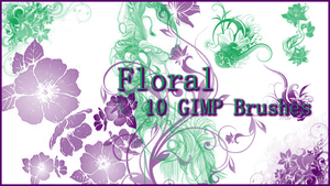 GIMP Floral Brushes by Illyera