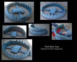 Plush Bear Trap by Avery07