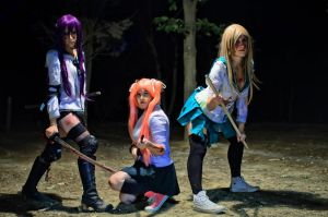 Zombie Killers II - Highschool of the DEAD by GloomyElls