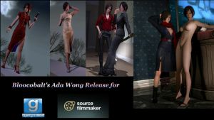 Ada Wong Release For GMod And SFM by Rastifan