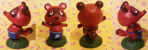 Animal Crossing : Tom Nook by CraftCandies