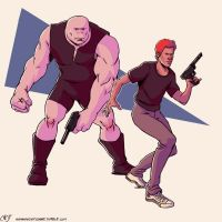Lester and Buddy by Deimos-Remus