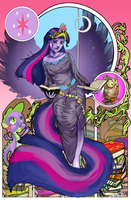 Twilight Mucha by BrokenZen