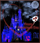 Castle Hearts Valentine Card by TheDreamFinder