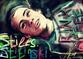 Stiles Stilinski by manulys