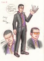 Phil Coulson is Machine Man Sketch Theory by neilak20
