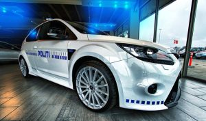 Ford Focus RS - DK Police Cruiser Equipped by BrknRib
