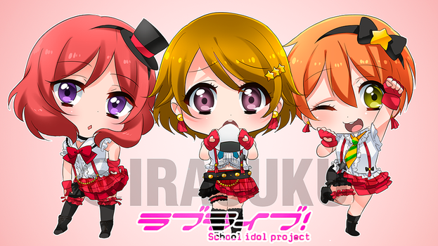 Love Live first year by irask