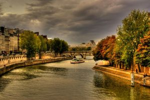 Bridges of Paris by Airoy