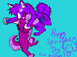 Happy Spirit Day! by TehBlizzyWolf