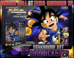 Goku Theme Windows XP by Danrockster