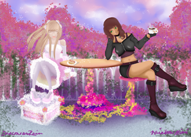 Afternoon Tea, With Love by bunbunberry