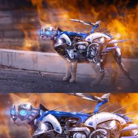 Robotic Cat by AnthonyHearsey