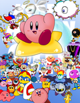 Kirby 20th Anniversary Collab by llKirbyXll