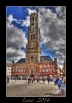 Bruges - Belfort Tower 2 by laino