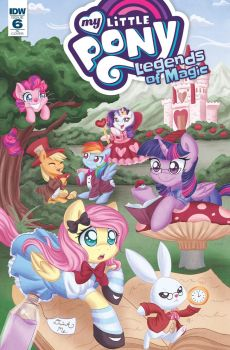 My Little Pony: Legends of Magic #6 RI cover by LeekFish