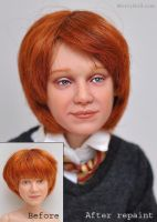 Ron Weasley repaint by mary-vassilieva