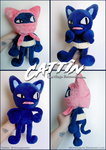 Cattin OC Plush by xBrittneyJane