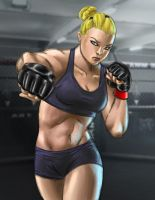'Rowdy' Ronda Rousey by wildcard24
