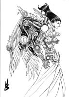 My artbook Cover ready by madd-sketch
