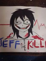 Jeff the killer by Krosis99