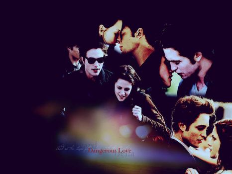 Edward and Bella Wall by RainOfCakes
