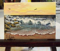 ACEO Seascape by annieoakley64