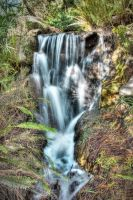 waterfall by french-fries