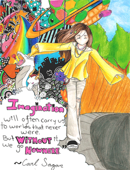 Imagination -Colored- by Sakura-Tora