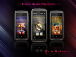 Spanish Clubs Wallpapers by AShinati