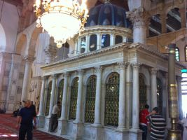 Umayyad Mosque 7 by calligrafer