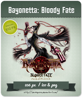 Bayonetta: Bloody Fate [Movie] - Anime Icon by Darklephise