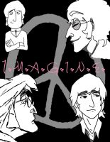 Imagine: John Lennon Doodledump by Opusqe