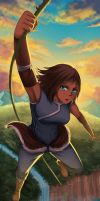 korra the last avatar by gin-1994